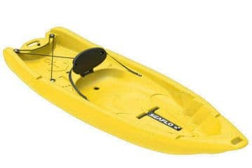SIT ON TOP KAYAK - ADULT and CHILD (SF-2002) - YELLOW canoe water sports joey
